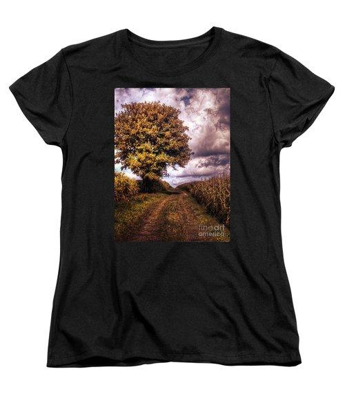 Guardian Of The Field Women's T-Shirt (Standard Cut) by Daniel Heine