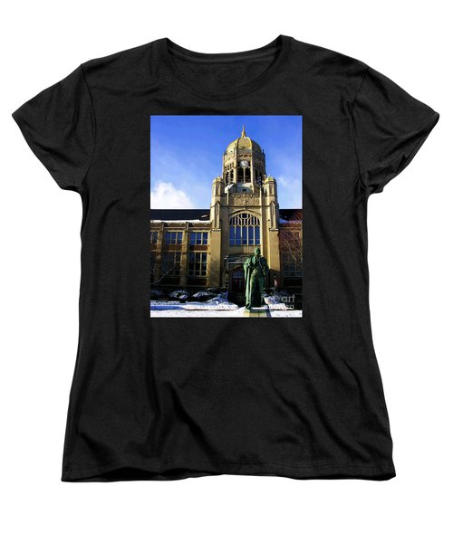 Haas College Center- Muhlenberg College Women's T-Shirt (Standard Cut) by Jacqueline M Lewis