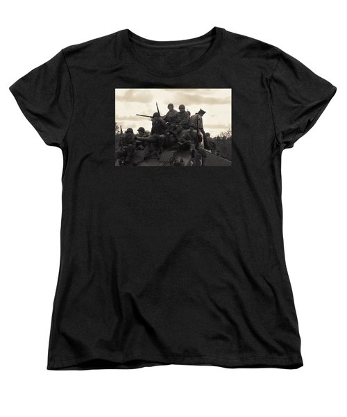Hail To The Victors Women's T-Shirt (Standard Cut) by Lyle Hatch