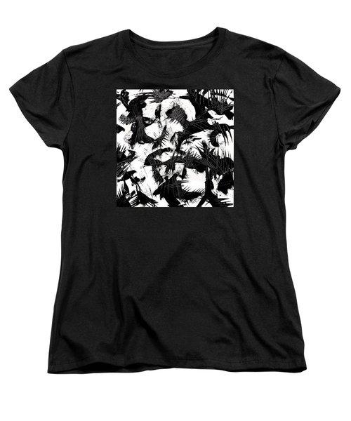Halloween Calling Women's T-Shirt (Standard Cut) by Expressionistart studio Priscilla Batzell