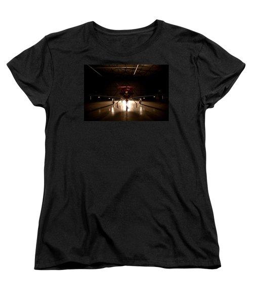 Hanger Light Women's T-Shirt (Standard Cut) by Paul Job