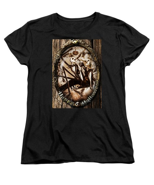 Happy Halloween IIi Sepia Version Women's T-Shirt (Standard Cut)