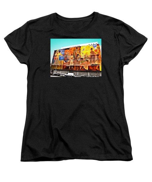 Harlem Hospital Mural Women's T-Shirt (Standard Cut)