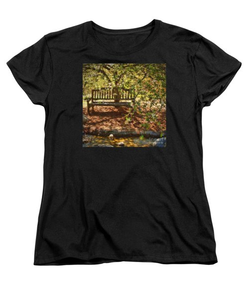 Have A Seat Women's T-Shirt (Standard Cut) by Peggy Hughes