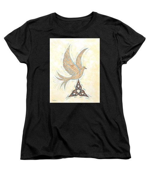 He Set Us Free Women's T-Shirt (Standard Cut) by Susie WEBER