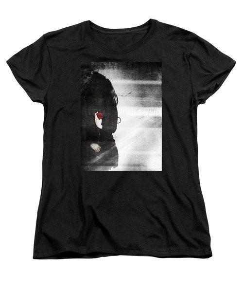 He Took My Sense Of Self Women's T-Shirt (Standard Cut) by Jessica Shelton