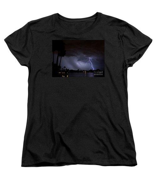 Head In The Clouds Women's T-Shirt (Standard Cut) by Quinn Sedam
