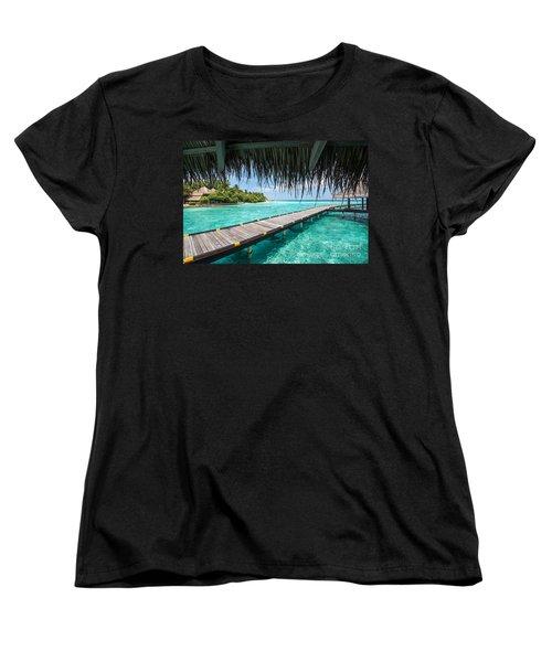 Heavenly View Women's T-Shirt (Standard Cut) by Hannes Cmarits