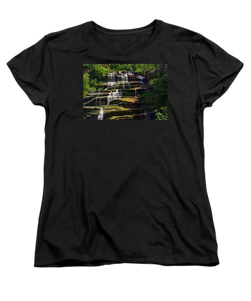 Hector Falls Women's T-Shirt (Standard Cut) by Dave Files
