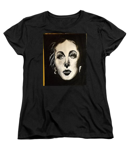 Women's T-Shirt (Standard Cut) featuring the painting Hedi by Sandro Ramani