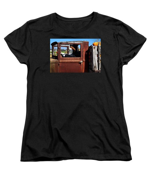 Women's T-Shirt (Standard Cut) featuring the photograph Hell Bent To Market by Michael Gordon