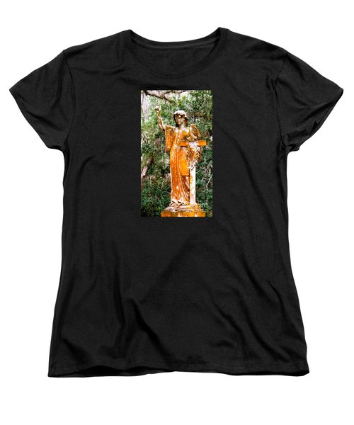 Women's T-Shirt (Standard Cut) featuring the photograph Her Guardian Angel by Joy Hardee