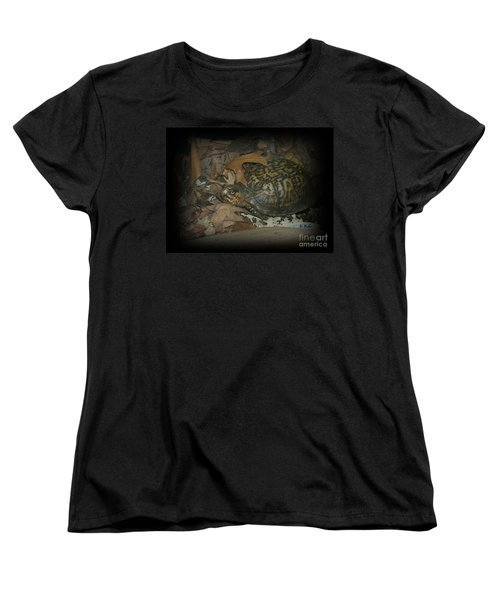Women's T-Shirt (Standard Cut) featuring the photograph Here's Looking At You by Sara  Raber
