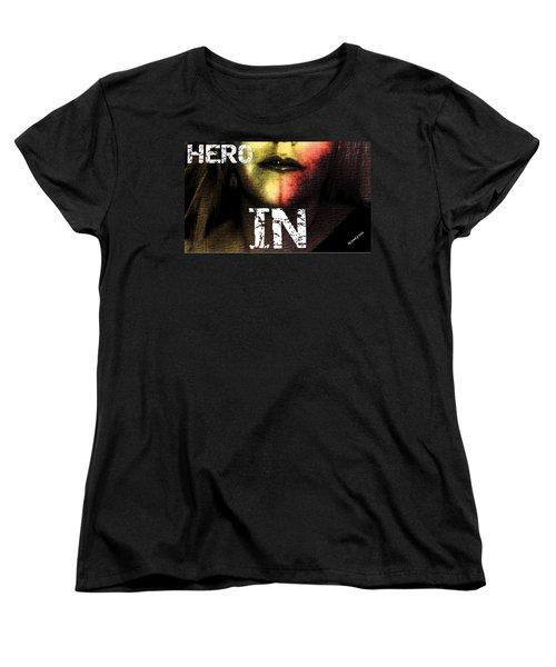 Women's T-Shirt (Standard Cut) featuring the photograph Hero In Part One by Sir Josef - Social Critic - ART