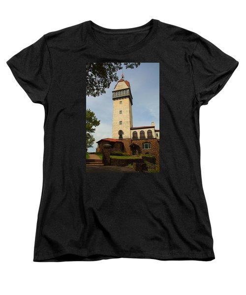 Heublein Tower Women's T-Shirt (Standard Cut) by Karol Livote