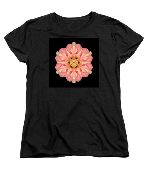 Hibiscus Rosa-sinensis I Flower Mandala Women's T-Shirt (Standard Cut) by David J Bookbinder