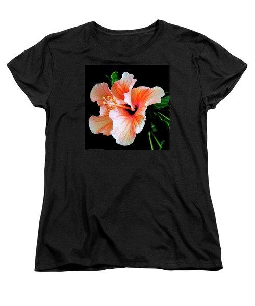 Hibiscus Spectacular Women's T-Shirt (Standard Cut) by Ben and Raisa Gertsberg