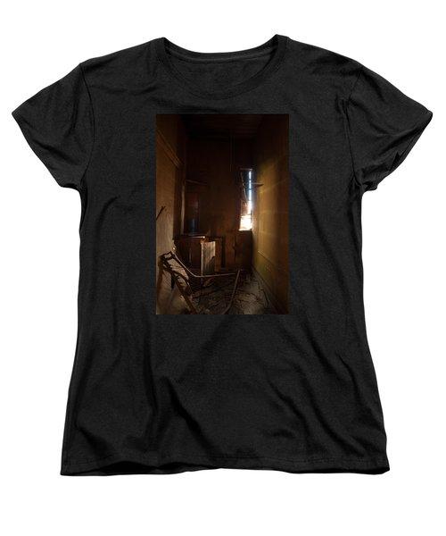 Women's T-Shirt (Standard Cut) featuring the photograph Hidden In Shadow by Fran Riley