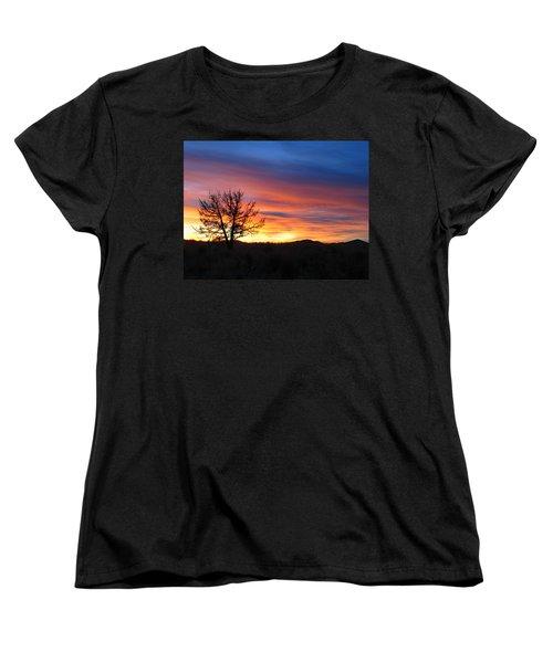 Women's T-Shirt (Standard Cut) featuring the photograph High Desert Sunset by Kevin Desrosiers