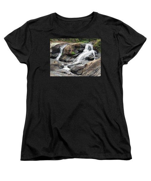 High Falls Women's T-Shirt (Standard Cut) by Aaron Martens