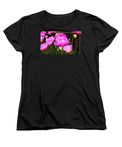 Highly Favored Women's T-Shirt (Standard Cut) by Terry Wallace