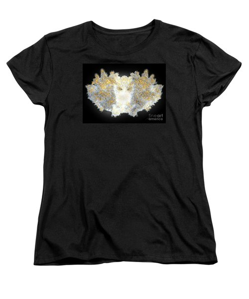 Women's T-Shirt (Standard Cut) featuring the digital art Hint Of Owl by Steed Edwards