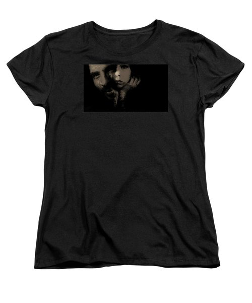 Women's T-Shirt (Standard Cut) featuring the photograph His Amusement Her Content  by Jessica Shelton