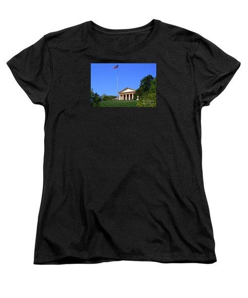 Women's T-Shirt (Standard Cut) featuring the photograph Historic Arlington House by Patti Whitten