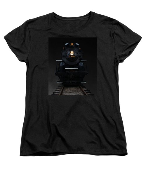 Historical 765 Steam Engine Women's T-Shirt (Standard Cut) by Rowana Ray