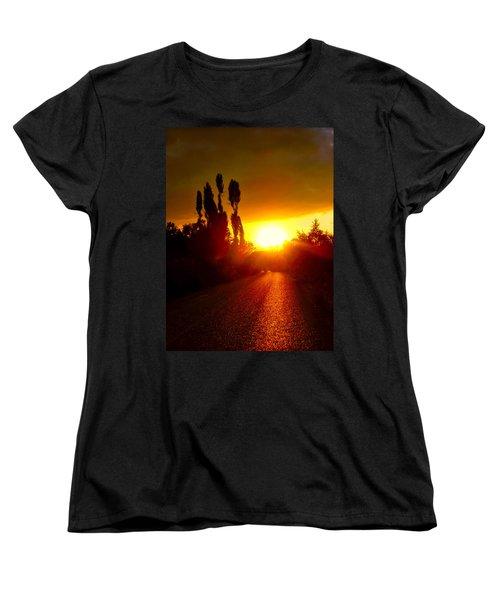 Hit The Road Jack Women's T-Shirt (Standard Cut) by Zafer Gurel