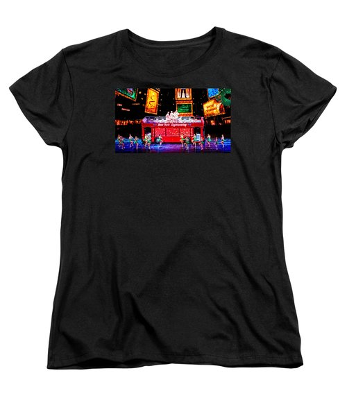 Holiday Sightseeing Women's T-Shirt (Standard Cut) by Mike Martin