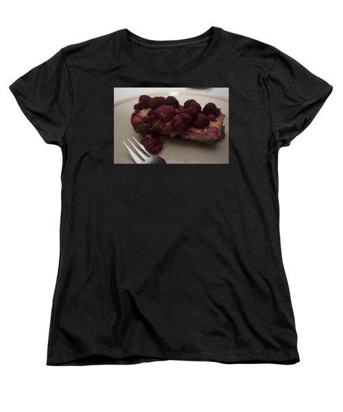 Homemade Cheesecake Women's T-Shirt (Standard Cut) by Miguel Winterpacht