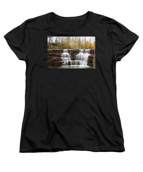 Honeoye Falls 2 Women's T-Shirt (Standard Cut) by Aimee L Maher Photography and Art Visit ALMGallerydotcom