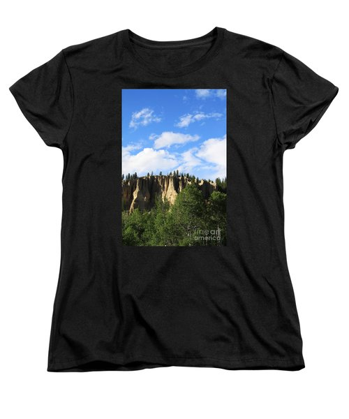 Hoodoos Women's T-Shirt (Standard Cut) by Alyce Taylor