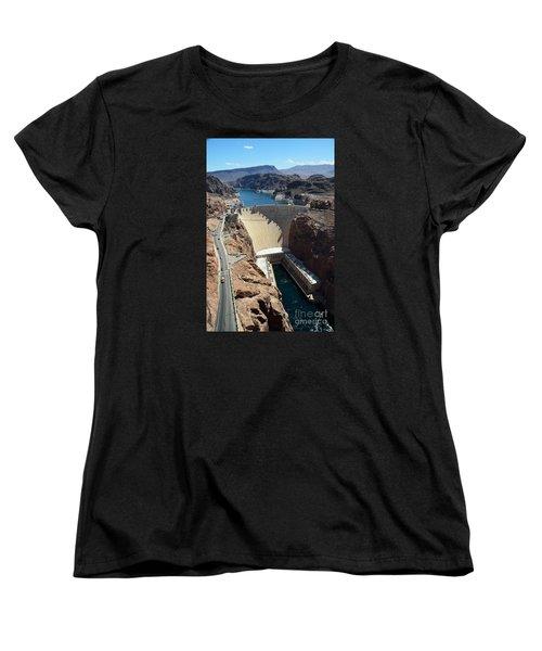 Hoover Dam Women's T-Shirt (Standard Cut) by RicardMN Photography