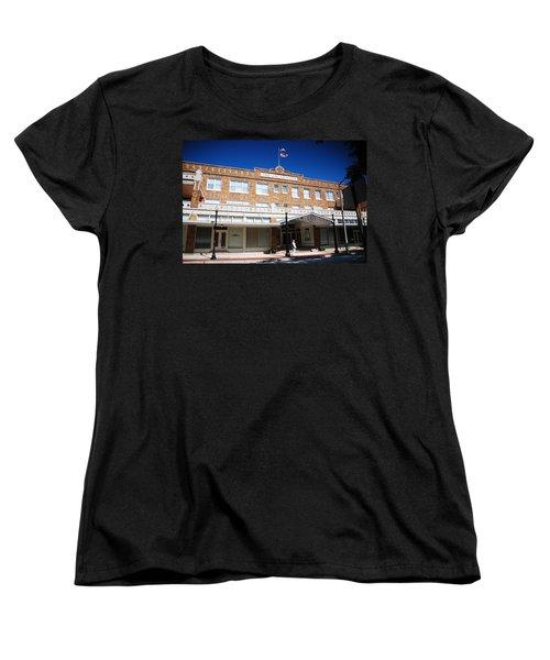 Hotel Jacaranda Women's T-Shirt (Standard Cut) by Beverly Stapleton