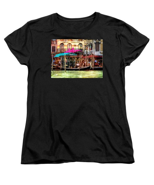 Hotel Marconi.venice. Women's T-Shirt (Standard Cut) by Jennie Breeze