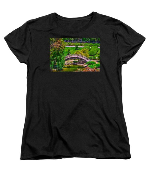 Huntington Library Ca Women's T-Shirt (Standard Cut) by Richard J Cassato