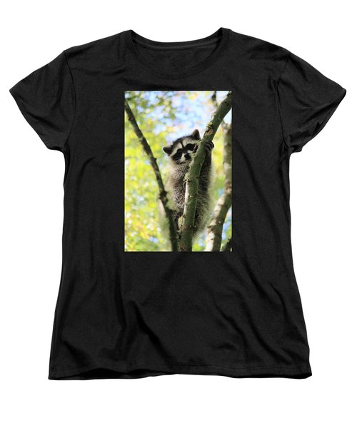 I Don't Want To Come Down Women's T-Shirt (Standard Cut) by Kym Backland