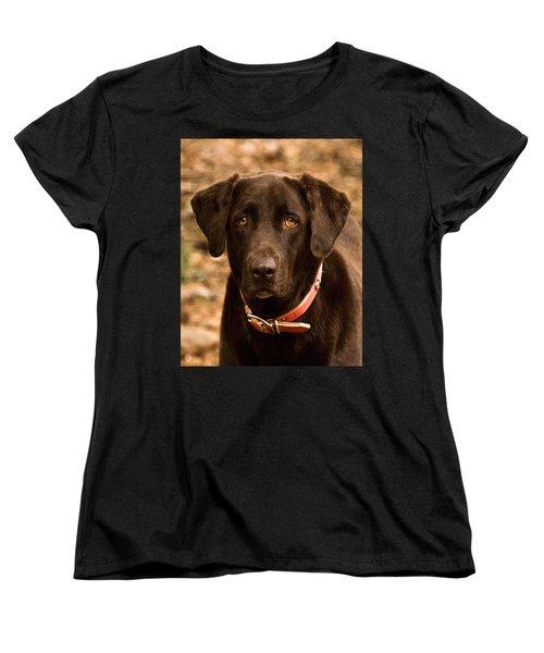 Women's T-Shirt (Standard Cut) featuring the photograph I Swear I Didn't Do It by Robert L Jackson