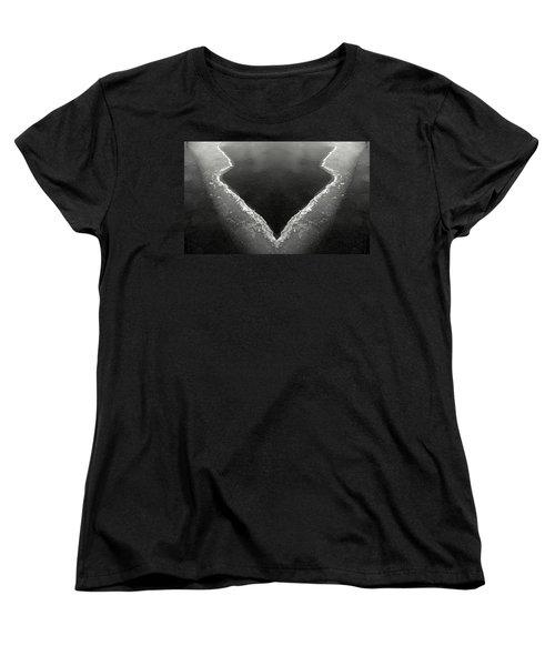 Iced Women's T-Shirt (Standard Cut) by Don Spenner