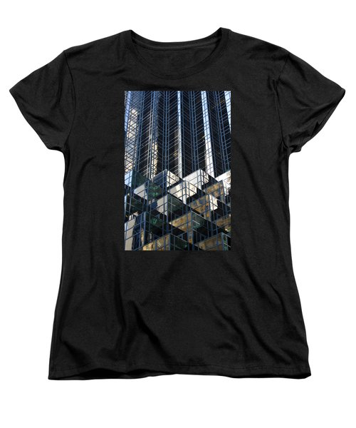 Icicle  Women's T-Shirt (Standard Cut) by Menachem Ganon