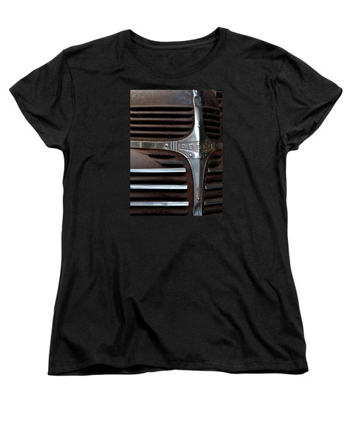 Women's T-Shirt (Standard Cut) featuring the photograph Iconic Dodge Truck by Nadalyn Larsen