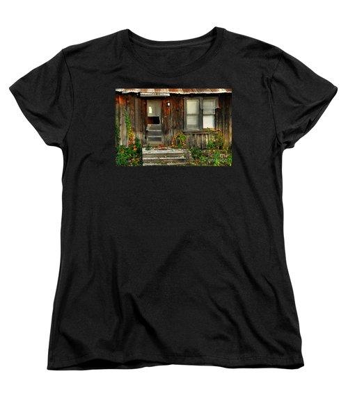 Women's T-Shirt (Standard Cut) featuring the photograph Idaho Retirement Estates by Sam Rosen
