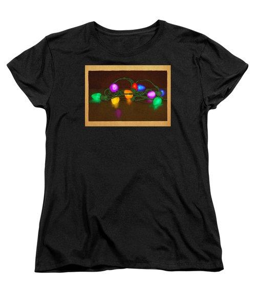 Illumination Women's T-Shirt (Standard Cut) by Meg Shearer