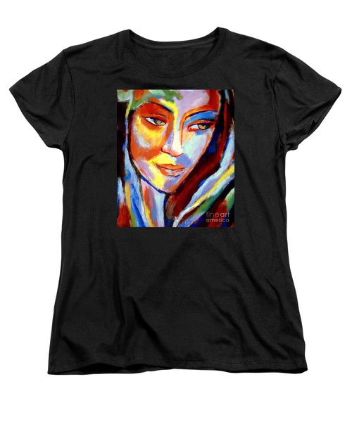 Women's T-Shirt (Standard Cut) featuring the painting Immersed by Helena Wierzbicki