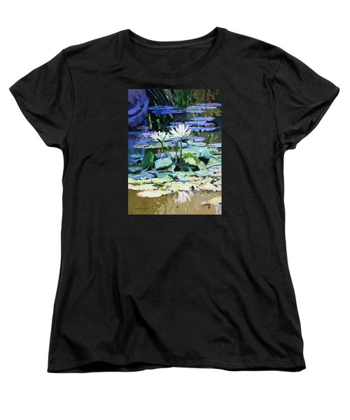 Impressions Of Sunlight Women's T-Shirt (Standard Cut) by John Lautermilch