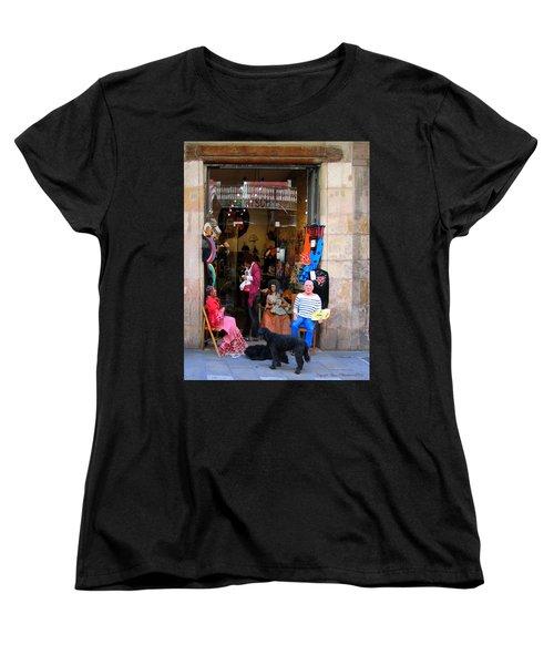 In Good Company Women's T-Shirt (Standard Cut) by Leena Pekkalainen