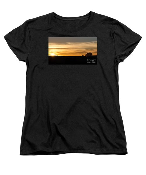 Women's T-Shirt (Standard Cut) featuring the photograph In The Evening I Rest by CML Brown