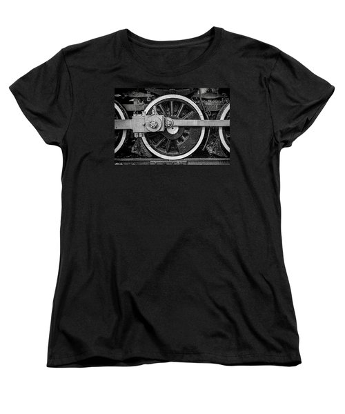 Women's T-Shirt (Standard Cut) featuring the photograph In The Middle by Ken Smith